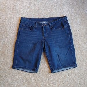 Levi womens denim shorts